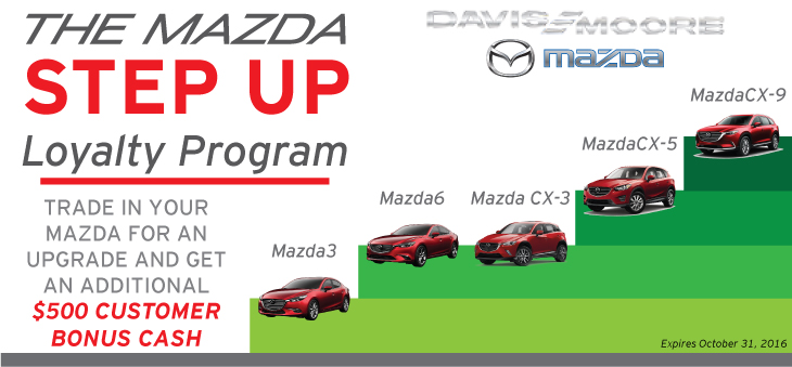 Mazda Step Up Loyalty Program